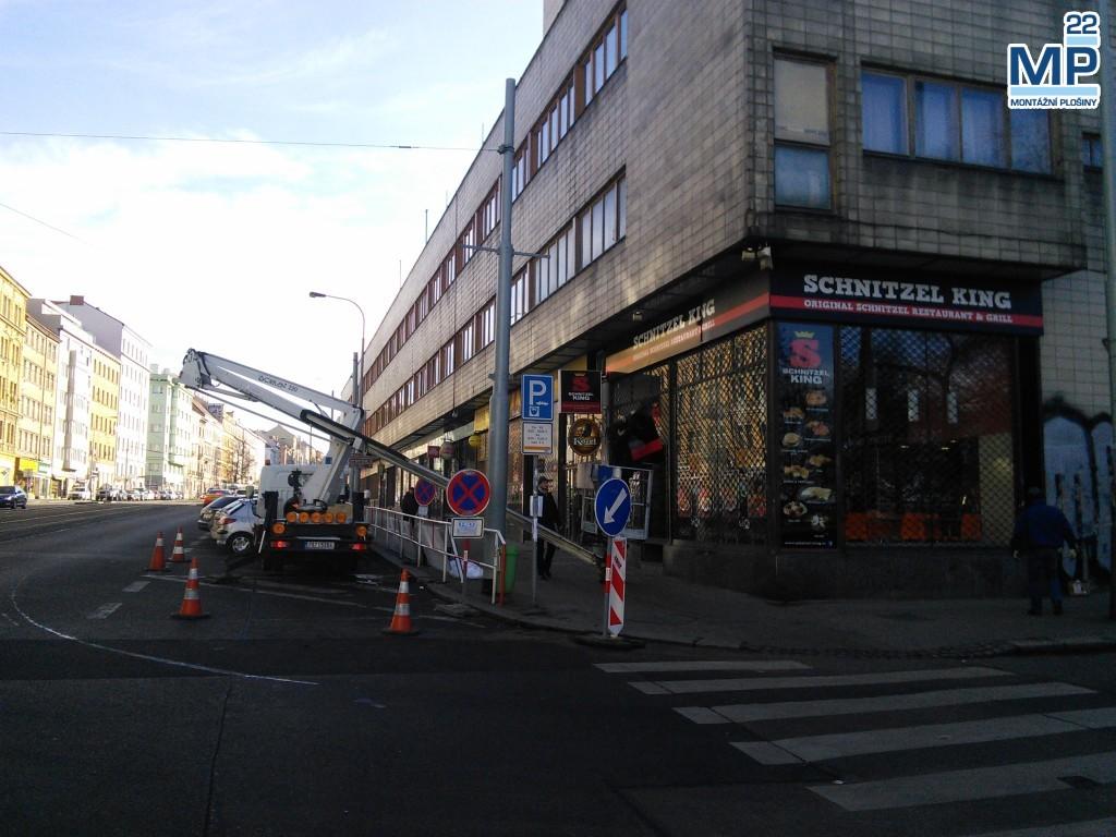 Schnitzel King, Seifertova, praha