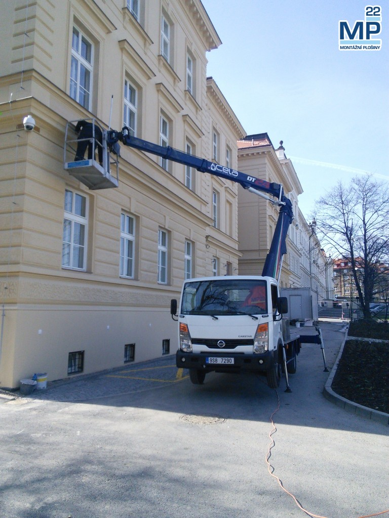 Oprava fasády DT24